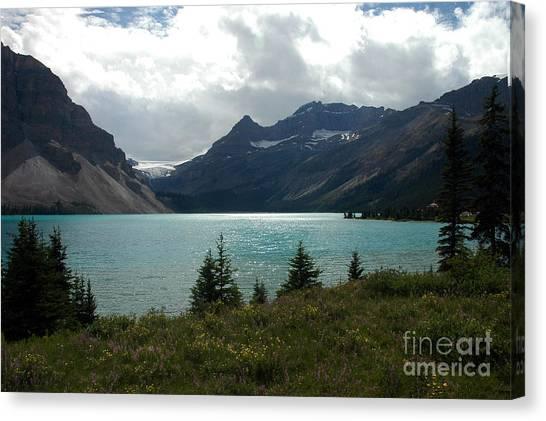 1021a Bow Lake Alberta Canvas Print