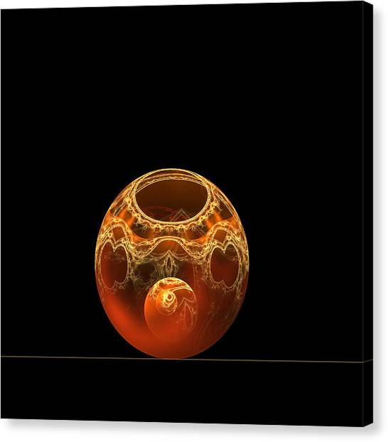 Bowl And Orb Canvas Print
