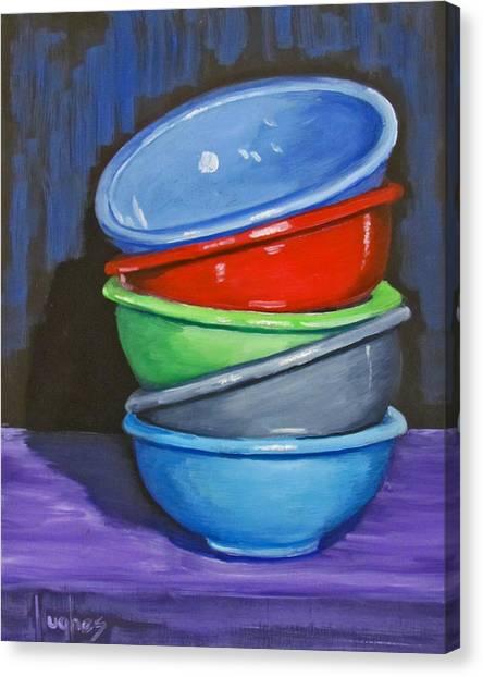 Bowls Canvas Print
