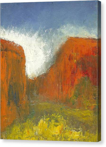 Box Canyon Canvas Print