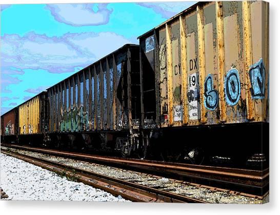 Boxxcars Canvas Print