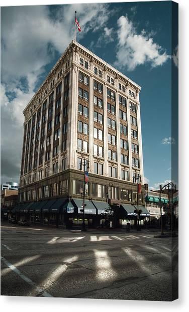 Manitoba Canvas Print - Boyd Building by Bryan Scott