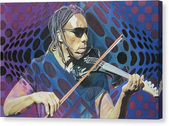 Boyd Tinsley Pop-op Series Canvas Print