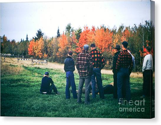 Boys Afternoon. Canvas Print