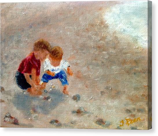 Boys At Play Canvas Print