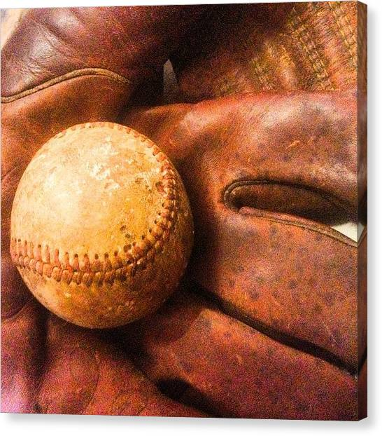 Baseball Canvas Print - Boys Of Summer Let The Games Begin by Scott Pellegrin