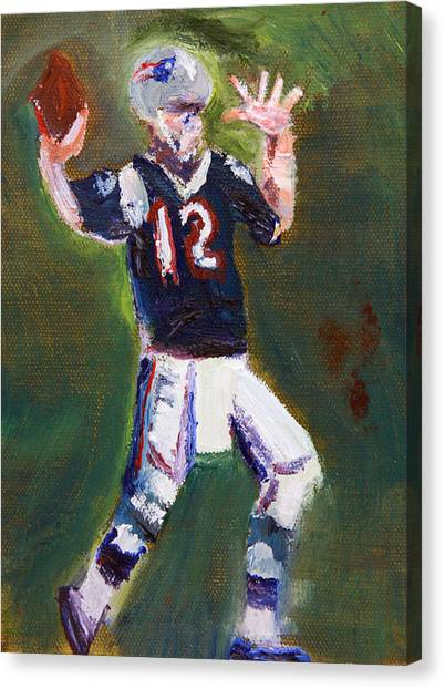 Superbowl Champ Canvas Print