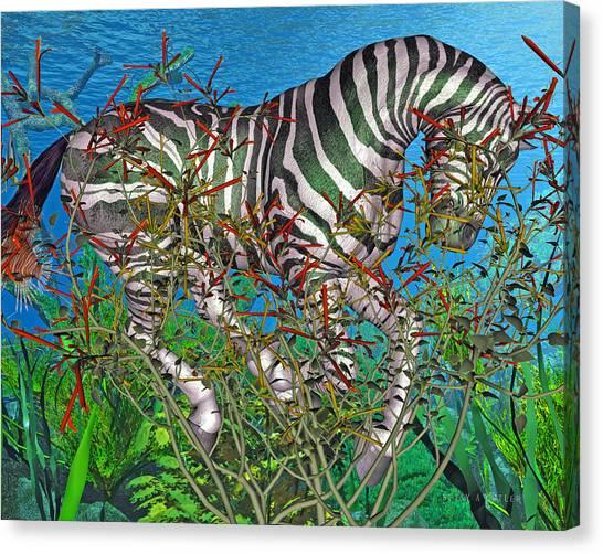 Weed Canvas Print - Bramble  by Betsy Knapp