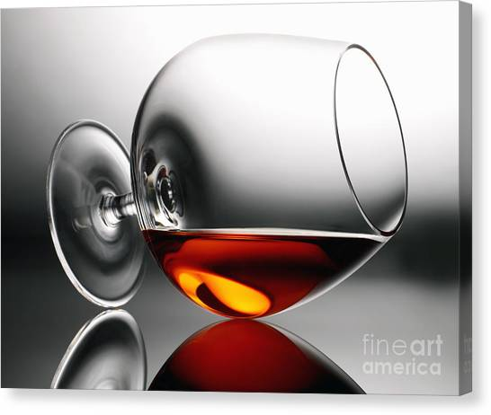 Brandy Snifter Canvas Print
