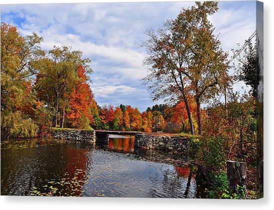 Brant Lake Bridge  Canvas Print