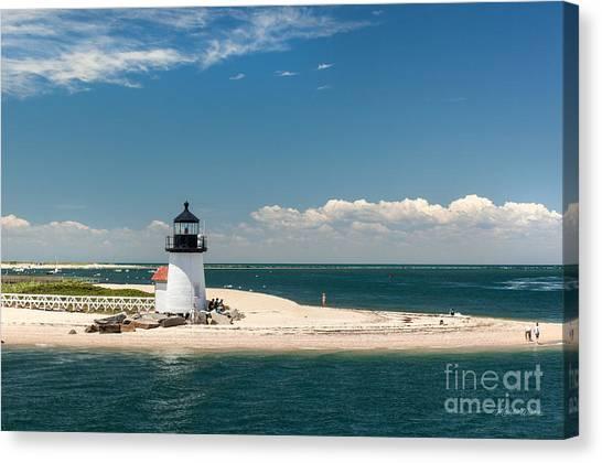 Brant Point Light Nantucket Canvas Print