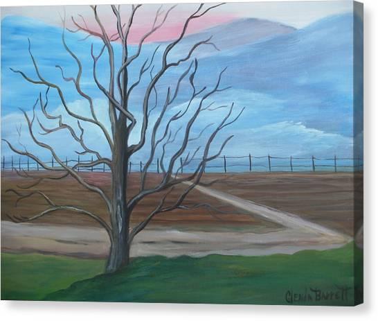 Break Of Day Canvas Print by Glenda Barrett