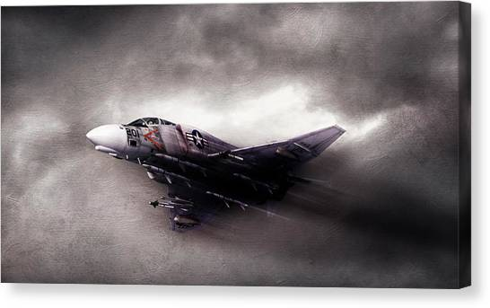 Sidewinders Canvas Print - Break On Through by Peter Chilelli
