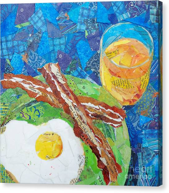 Breakfast Is Ready Canvas Print by Patricia Henderson
