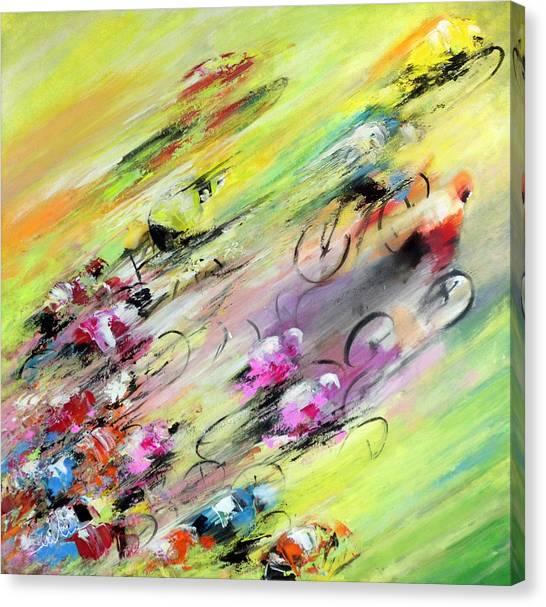 Breaking Away Canvas Print