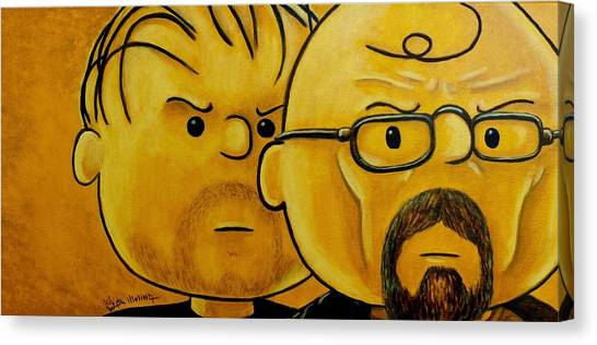 Breaking Brown Canvas Print by Al  Molina