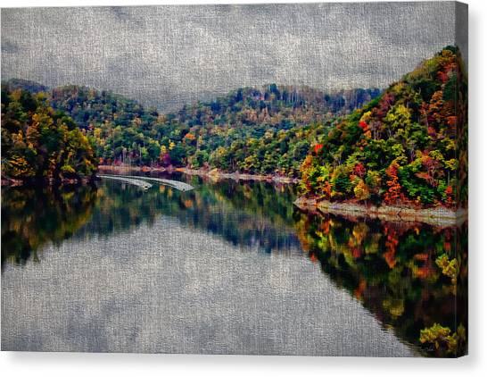 Breaking The Mirrow Canvas Print