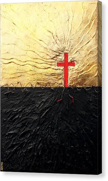Breakthrough  Canvas Print by Sandra Yegiazaryan