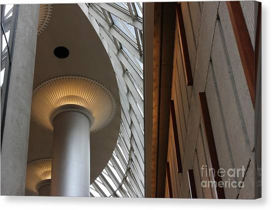 Breath Taking Beauty Architecture Canvas Print