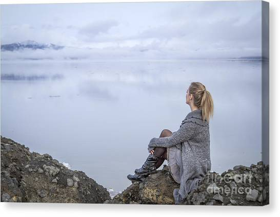 Breathe Canvas Print - Breathe by Evelina Kremsdorf