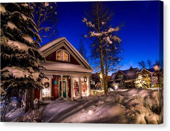 Breckenridge Winter Wonderland Canvas Print