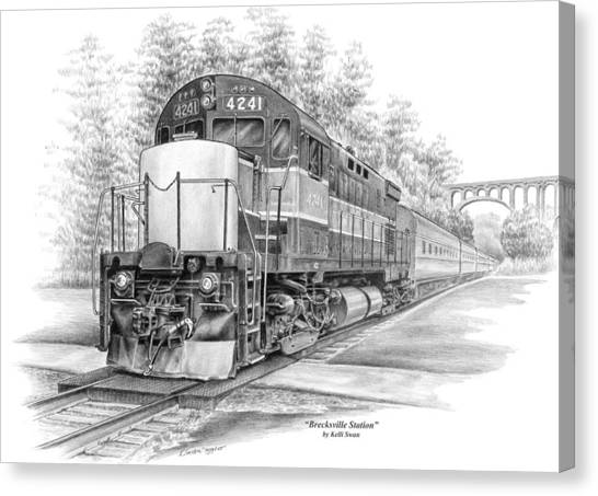 Brecksville Station - Cuyahoga Valley National Park Canvas Print