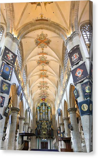Breda Cathedral Canvas Print