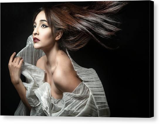 Dress Canvas Print - Breezin' by Tuchi Imperial