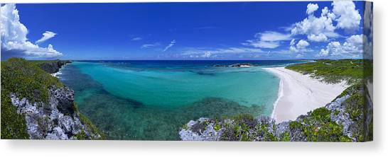 Beach Cliffs Canvas Print - Breezy View by Chad Dutson