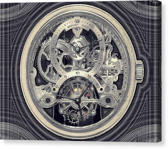 Breguet Skeleton Canvas Print