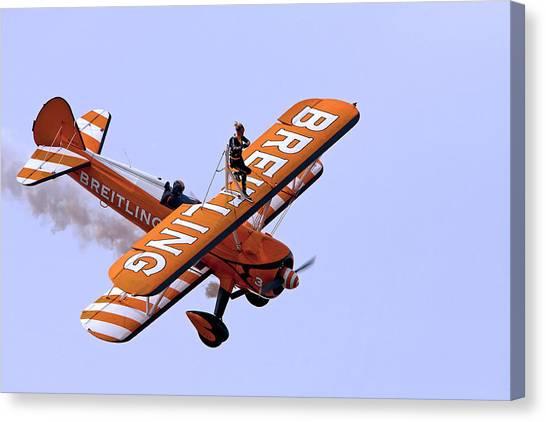 Breitling Wingwalker Canvas Print