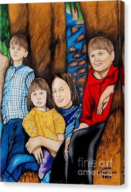 Brenda's Kids Canvas Print
