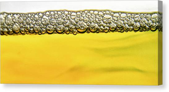 Pint Glass Canvas Print - Brewed by Stelios Kleanthous