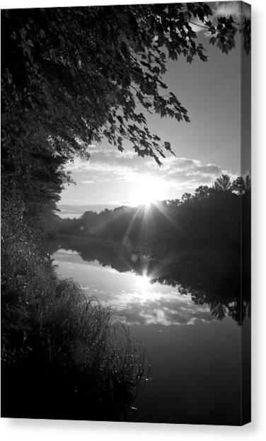 Brf River Canvas Print
