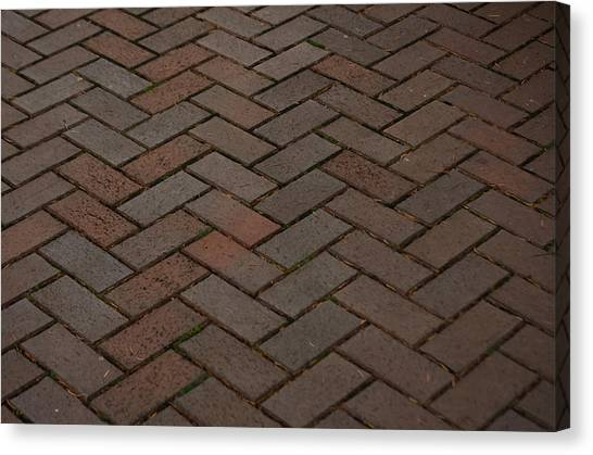 Brick Pattern Canvas Print
