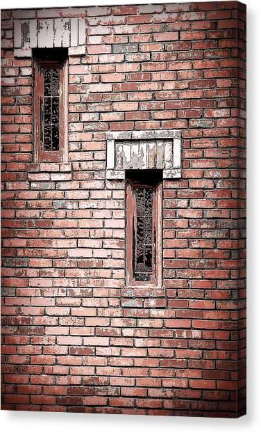 Brick Work Canvas Print