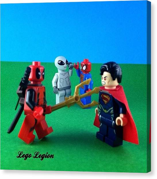 The Legion Canvas Print - #brickcentral's Latest Competition by Lego Legion