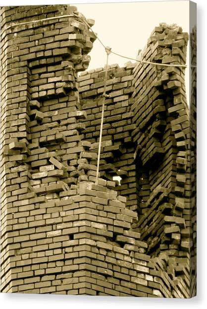 Bricks Canvas Print by Azthet Photography