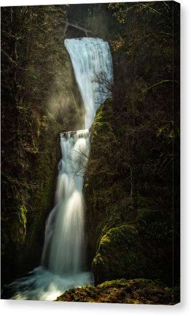 Bridal Veil Falls Canvas Print by Joe Hudspeth