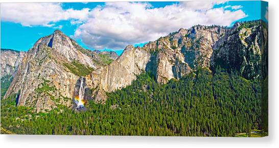 Bridalveil Fall From Old Big Oak Flat Road Canvas Print