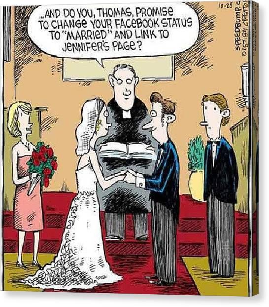 Groom Canvas Print - #bride #groom #wedding #matrimony by Jonathan Oskins