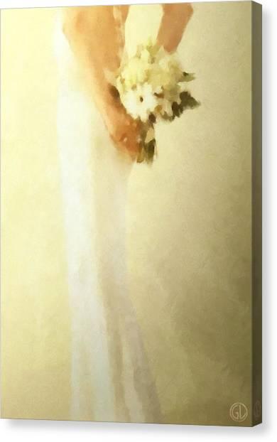 Bride Canvas Print by Gun Legler