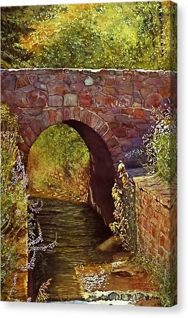Bridge At Manitou Springs Canvas Print