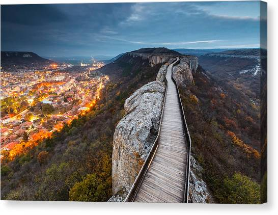 Bridge Between Epochs Canvas Print