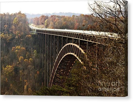 Bridge Canvas Print by Blink Images