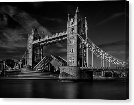 Open Canvas Print - Bridge by C.s. Tjandra