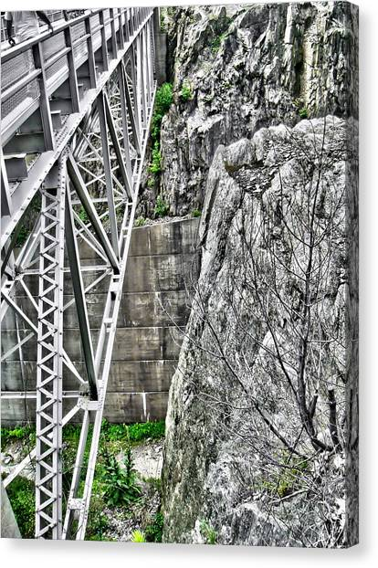 Bridge In Vermont Canvas Print
