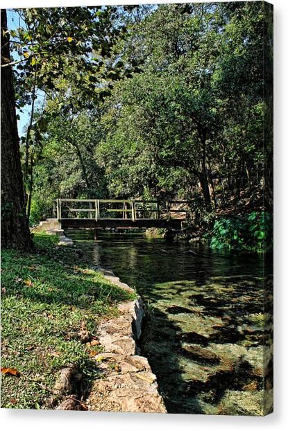 Bridge Of Serenity Canvas Print