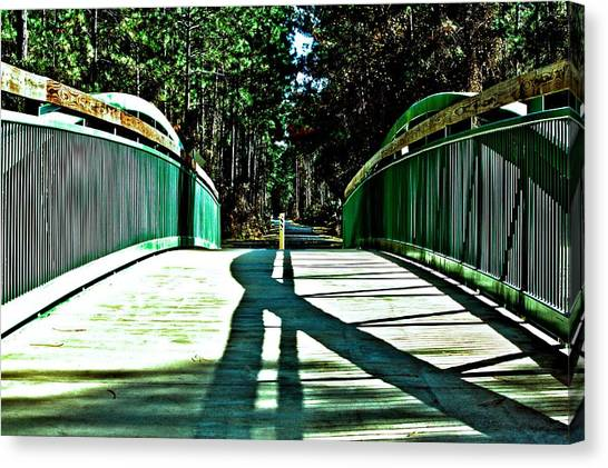 Bridge Of Shadows Canvas Print