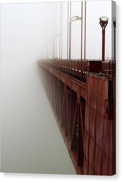 Bridge To Obscurity Canvas Print